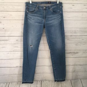 AG Adriano Goldschmied The Stevie Ankle Jeans 30R